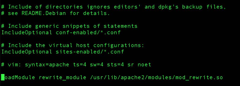 LoadModule-rewrite_module