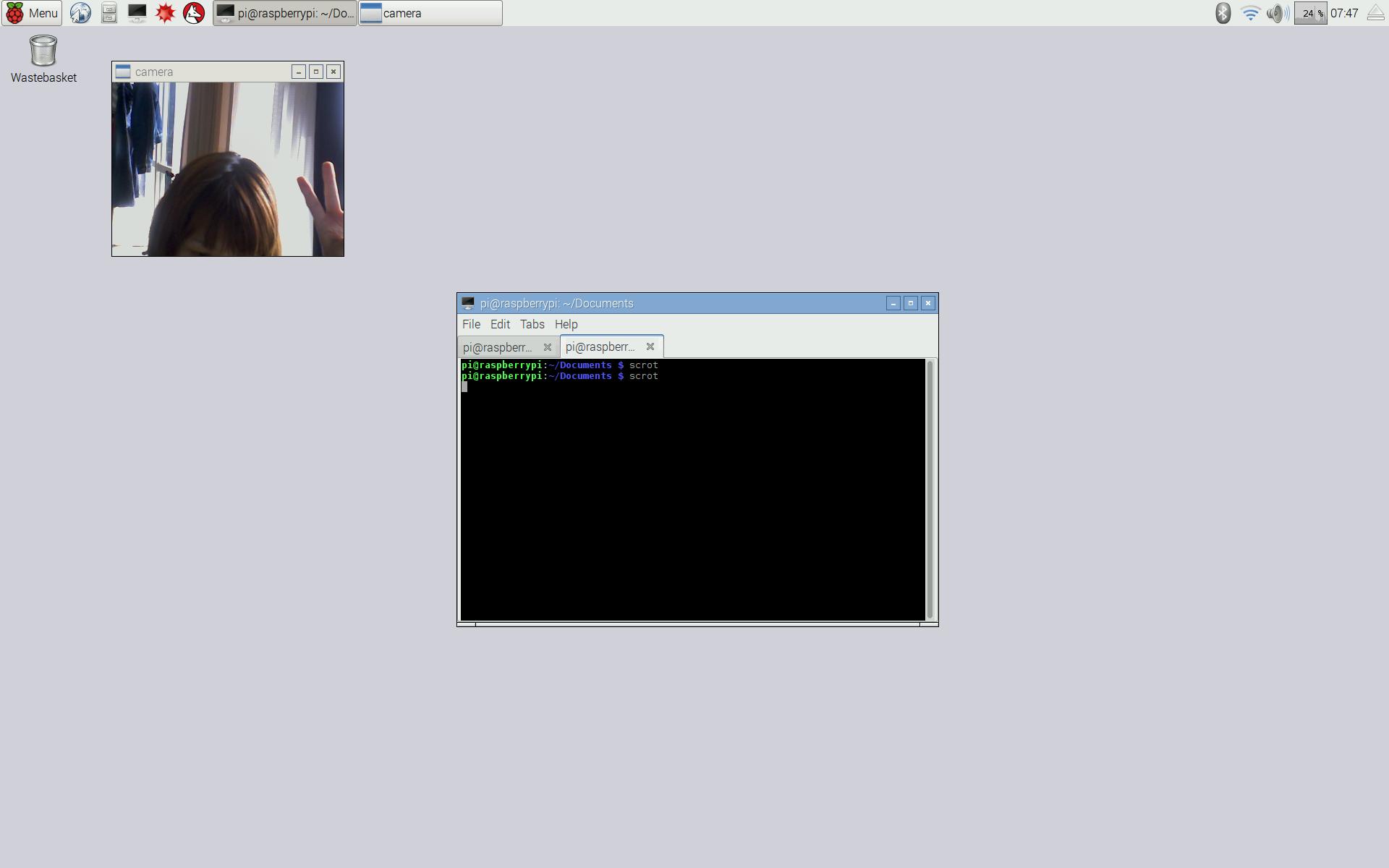 Raspberry Pi Zero に OpenCV を入れてWebカメラをキャプチャ